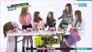 Video [APINKSUBS] 140409 MBCevery1 Weekly Idol E142   A Pink Part 3/4 download MP3, 3GP, MP4, WEBM, AVI, FLV Mei 2018