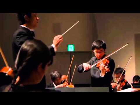 The 4th  Munetsugu Angel Violin Competition 3rd Prize    Kaoru Oe 1/2