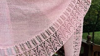 Repeat youtube video Tilbrook Crescent Shawl