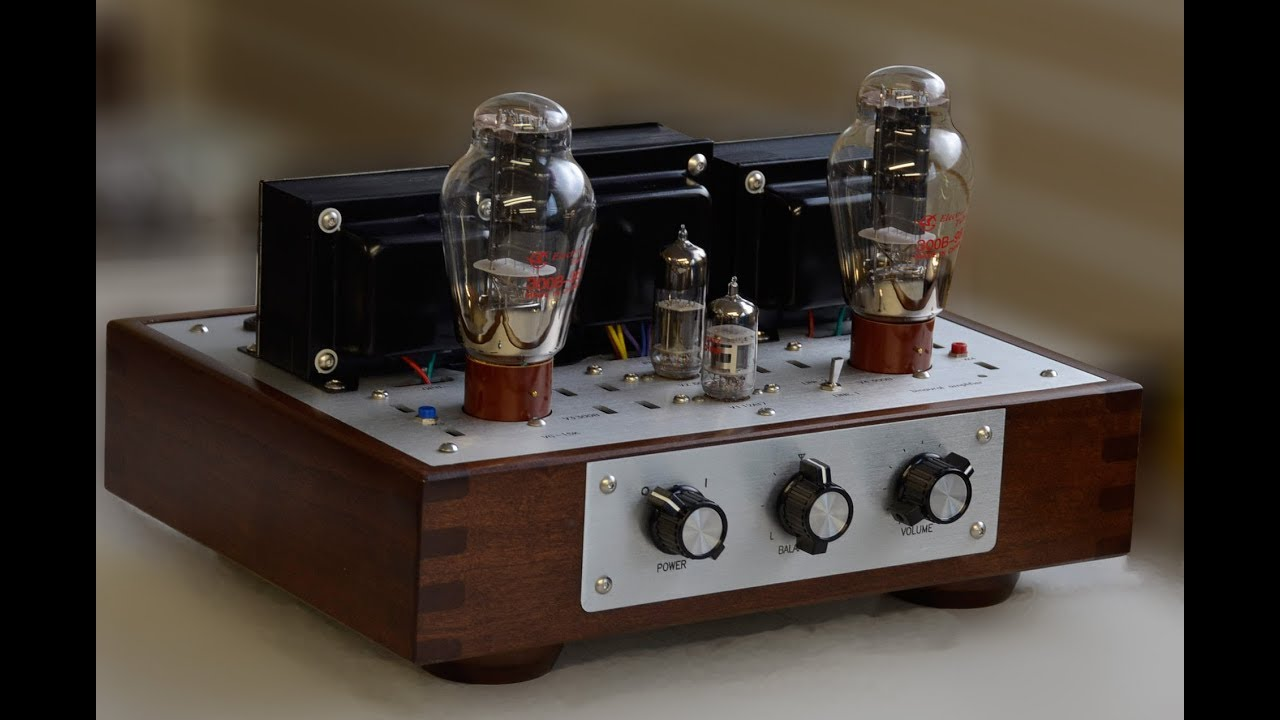 Fluxion Vg-15k  300b Se Stereo Tube Integrated Amplifier Test