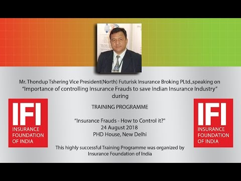 Insurance Fraud Claims in Marine Insurance & Liability Insurance Claims by Thondup Tshering