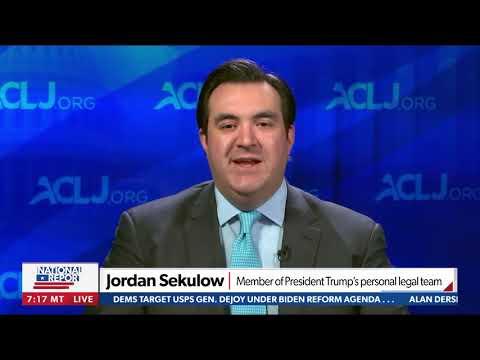 "Time Magazine Claims ""Shadow Campaign"" Influenced 2020 Election - Jordan Sekulow on Newsma"