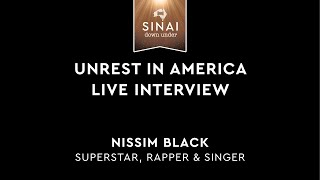 Unrest in America: Live Interview - Nissim Black