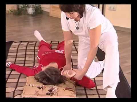 Шиацу - массаж передней поверхности тела