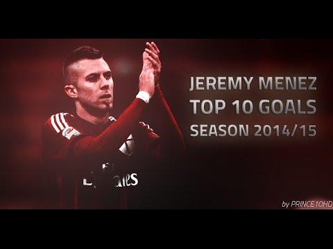 Jeremy Menez - Top 10 Goals - Season 2014/15 AC Milan - HD