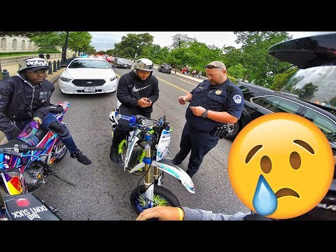 THE POLICE CAUGHT US!!