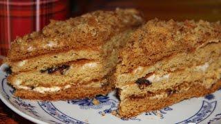 Медовый торт Чудо  Рецепт торта