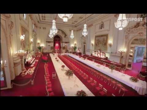 Visita el Palacio de Buckingham como invitado de la Reina de Inglaterra