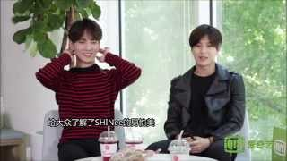 150918 IQIYI Interview - SHINee Key&Taemin
