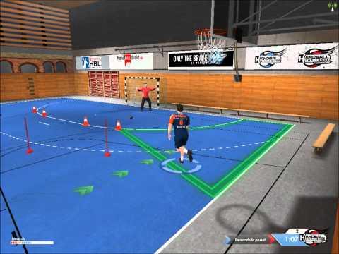 IHF Handball Challenge: Tirs aux postes.