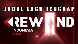 JUDUL LAGU YOUTUBE REWIND INDONESIA 2020 - SONG LIST