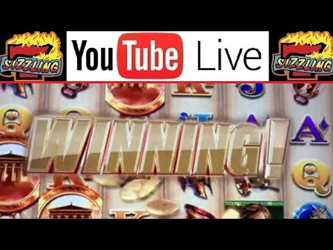 🔴 LIVE SLOT MACHINE PLAY 🎰 AWESOME REELS LADY of ATHENS - BIG WIN JACKPOT TIME!