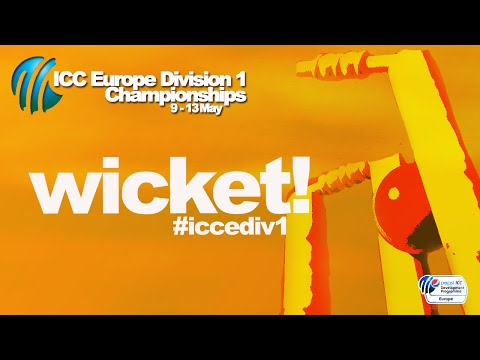 WICKET! Norway lose wicket after big partnership 107-3 (14) v @guernseycricket #iccediv1