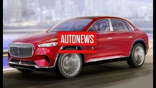 Рассекречен кросс-седан Mercedes-Maybach Ultimate Luxury