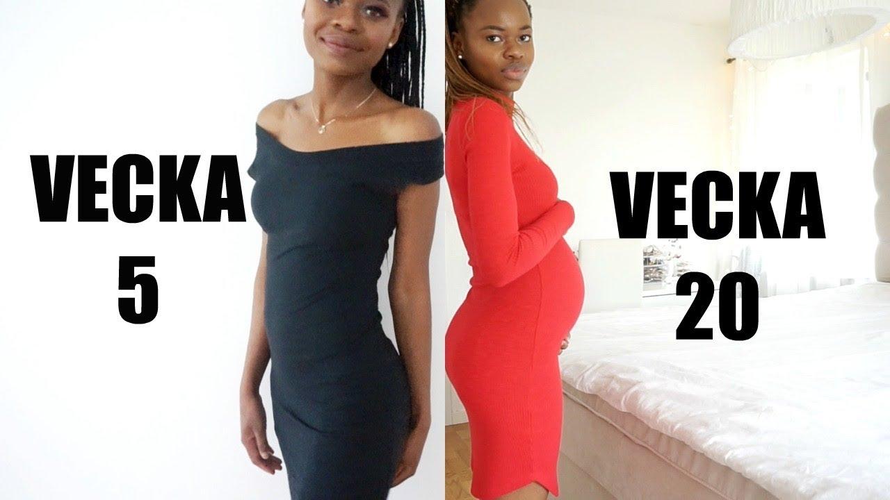 illamående gravid vecka