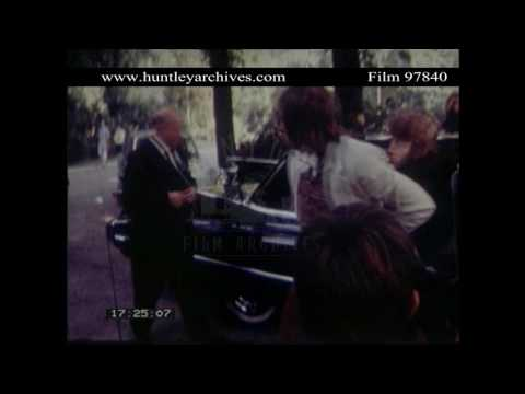 Rolling Stones in 1970.  Archive film 97840