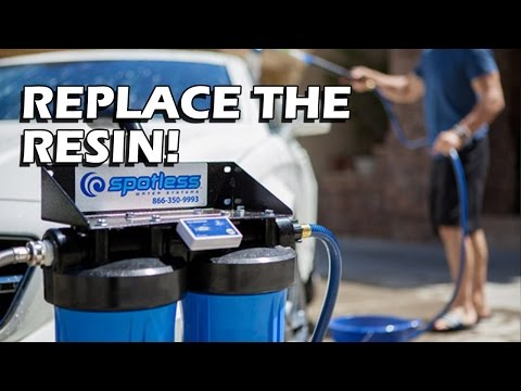 How To: Maintain Your Deionized Water System (Spotless Water System)
