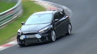 2016 Ford Focus RS Testing Again on the Nurburgring thumbnail