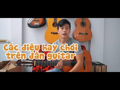 TỰ HỌC GUITAR   EP.1   CÁC ĐIỆU NHẠC HAY CHƠI TRÊN ĐÀN GUITAR