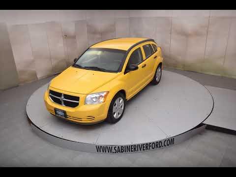 2007 Solar Yellow Clearcoat Dodge Caliber 4D Hatchback #6669A