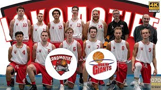 Lokomotief Heren 1 vs Red Giants