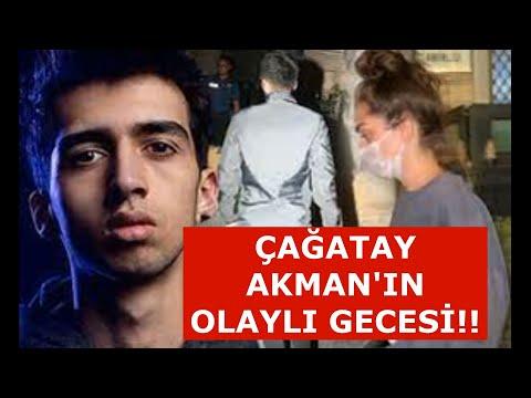 Çağatay Akman  Ve Öykü Uslu'nun Olaylı Gecesi!!