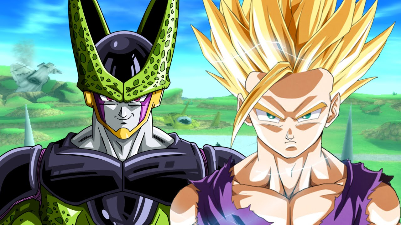 Super saiyan 2 teen gohan vs evil super perfect cell - Images dragon ball z ...