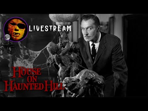 """Dr. Wolfula's """"House on Haunted Hill"""" Livestream!   AHHCTOBER 2017"""