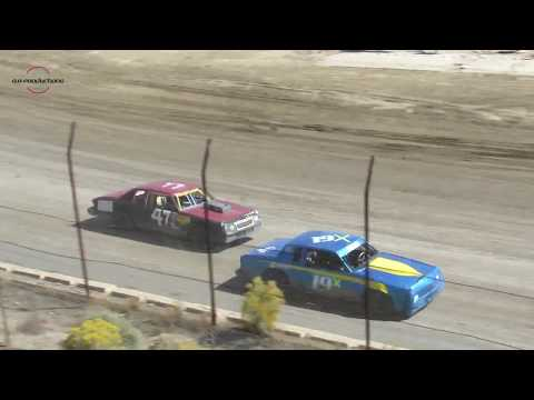 Desert Thunder Raceway Hobby Stock Heat Races  9/30/18