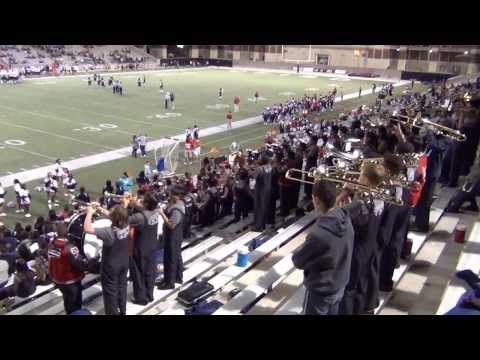 Cypress Springs High School Band Stand Tunes - 5 at Berry Stadium11/02/13