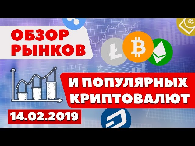 Обзор традиционных рынков и популярных  криптовалют.