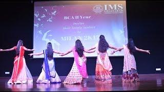 Best Girls Group Dance  Performance  || Milian 2K17 ||