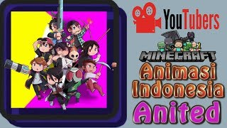 Youtuber Minecraft Animation Indonesia - World Of Animator SMP  Art Project!