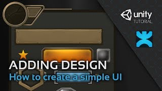 Adding Design Elements - How to create a simple UI in Unity - 5 - DoozyUI Video Tutorial