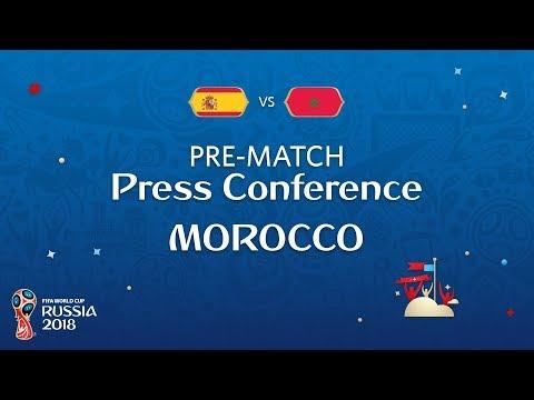 FIFA World Cup™ 2018: ESP vs MAR : Morocco Pre-Match Press Conference