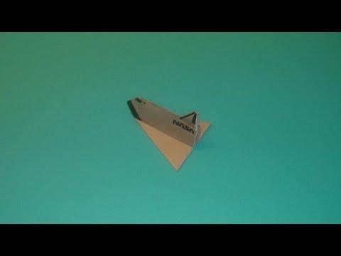 How To Make An Origami NASA Shuttle