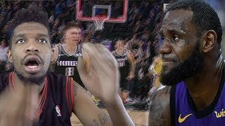 FIRST GAME NO LEBRON & THIS HAPPENS.. LAKERS vs KINGS HIGHLIGHTS