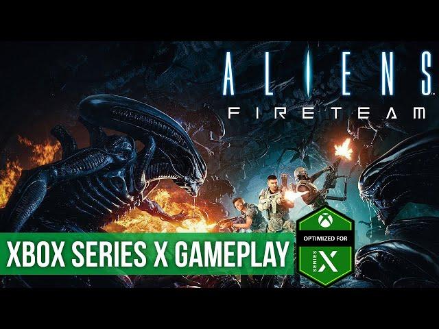 Aliens Fireteam Elite - Xbox Series X Gameplay (60FPS)