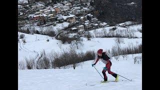 Allenamenti di skialp a Pezzoro 02-12-17