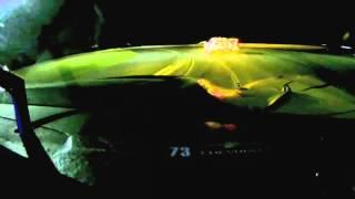 2014 le mans corvette c7r onboard night