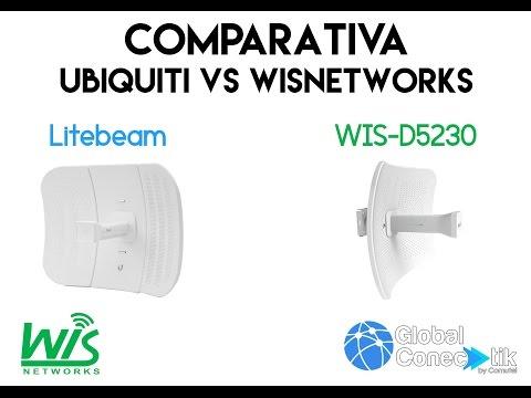 Comparativa WIS-D5230 vs LiteBeam M5