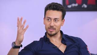 Baba roars with Tiger (Baaghi 2 Promotion) and ...