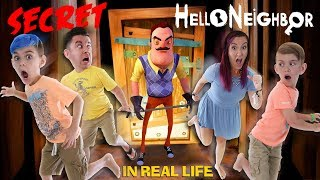 Secret Neighbor! Hello Neighbor In Real Life (FUNhouse Family)