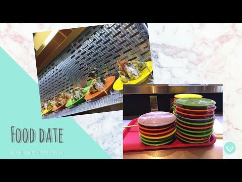Food Date // Rockin' Roll Sushi Express Review