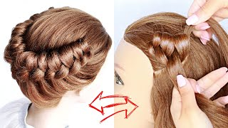 😱 New hairstyle for wedding and party    trending hairstyle    party hairstyle    UPDO hairstyle