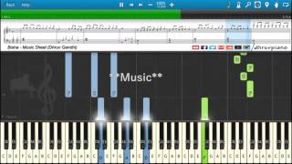 ♫ Bolna (Kapoor and Sons) || Piano Tutorial + Music Sheet + MIDI with Lyrics