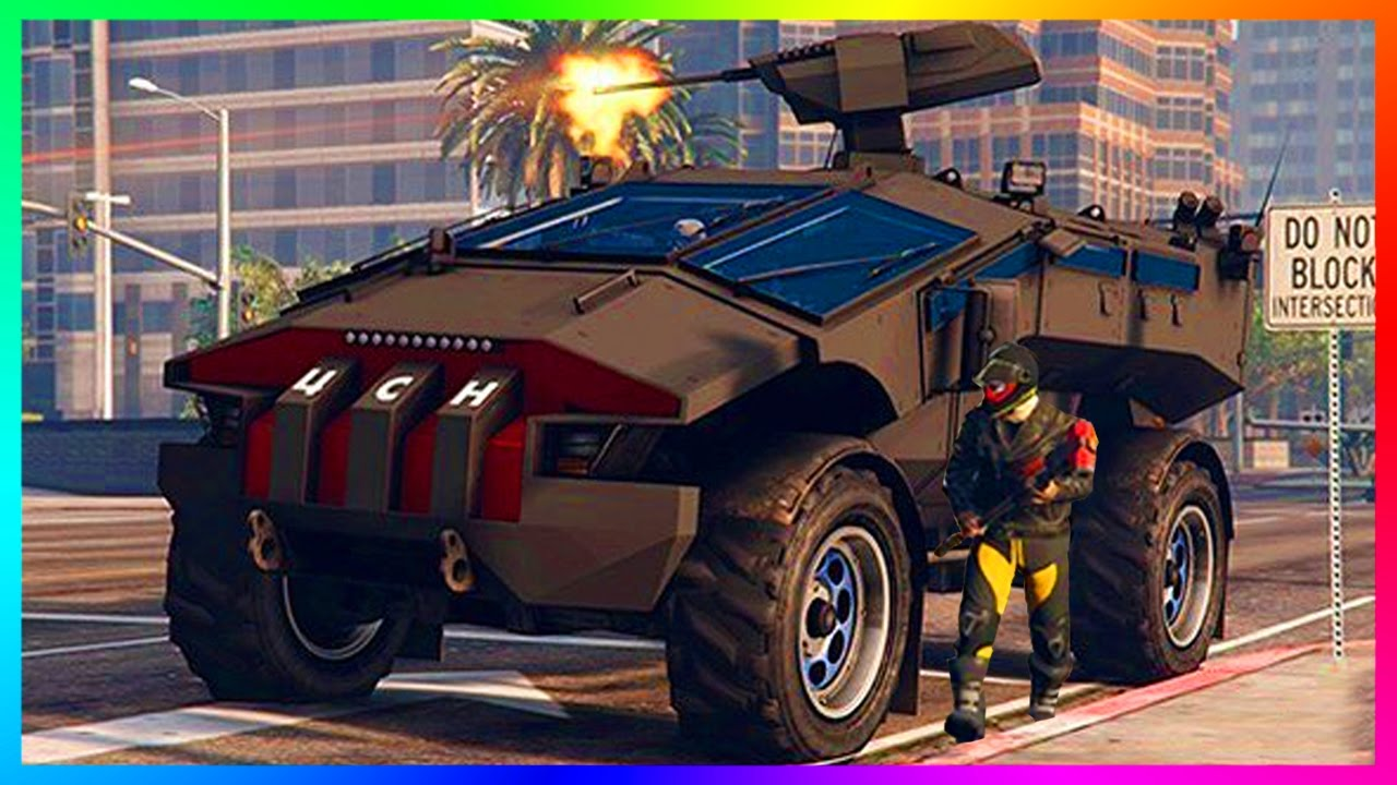 GTA ONLINE GUNRUNNING MILITARY DLC HIDDEN ARMY VEHICLES, NEW HIGH POWERED WEAPONS & MORE! (GTA 5