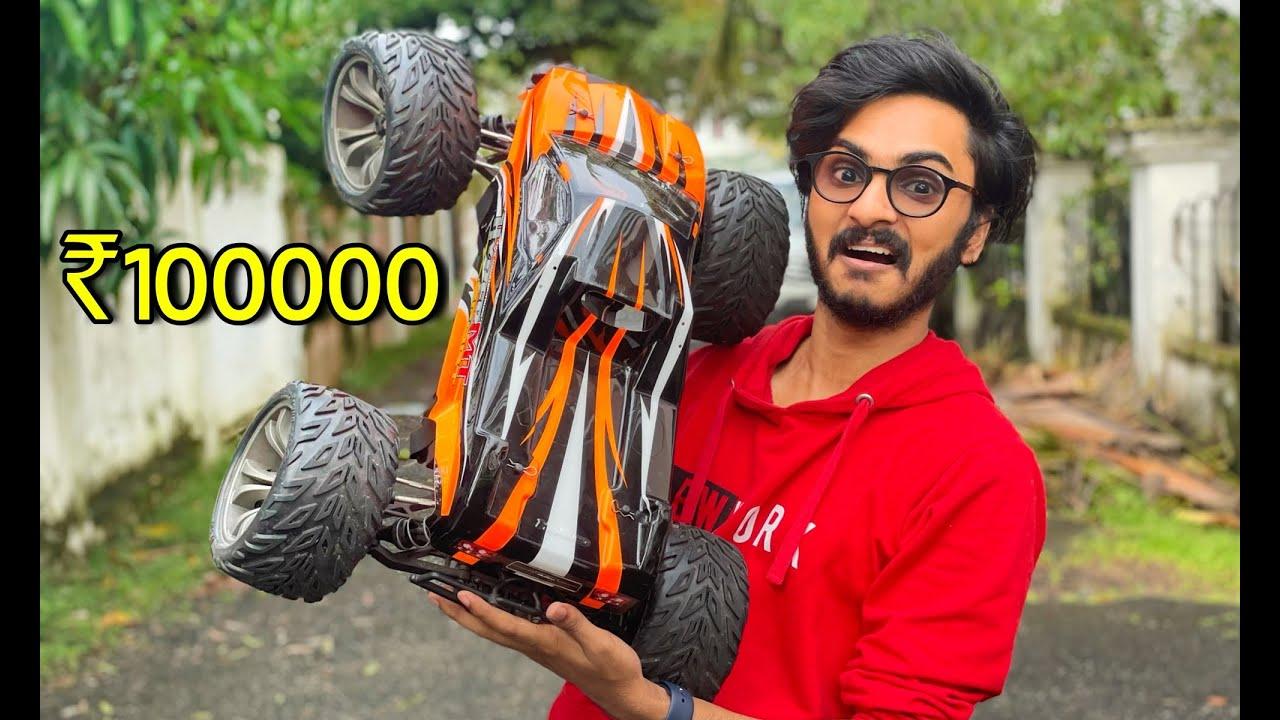 ഒരു ലക്ഷത്തിന്റെ RC CAR വാങ്ങി 🤩🤩🤩 extreme speed 🔥 UNBOXINGDUDE l