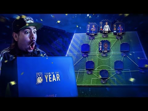 EA SENT ME THE TOTY! AND FREE PACKS! FIFA 18