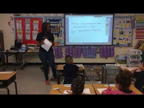 Kirsten Thomas Break through Miami Mock Teaching Video